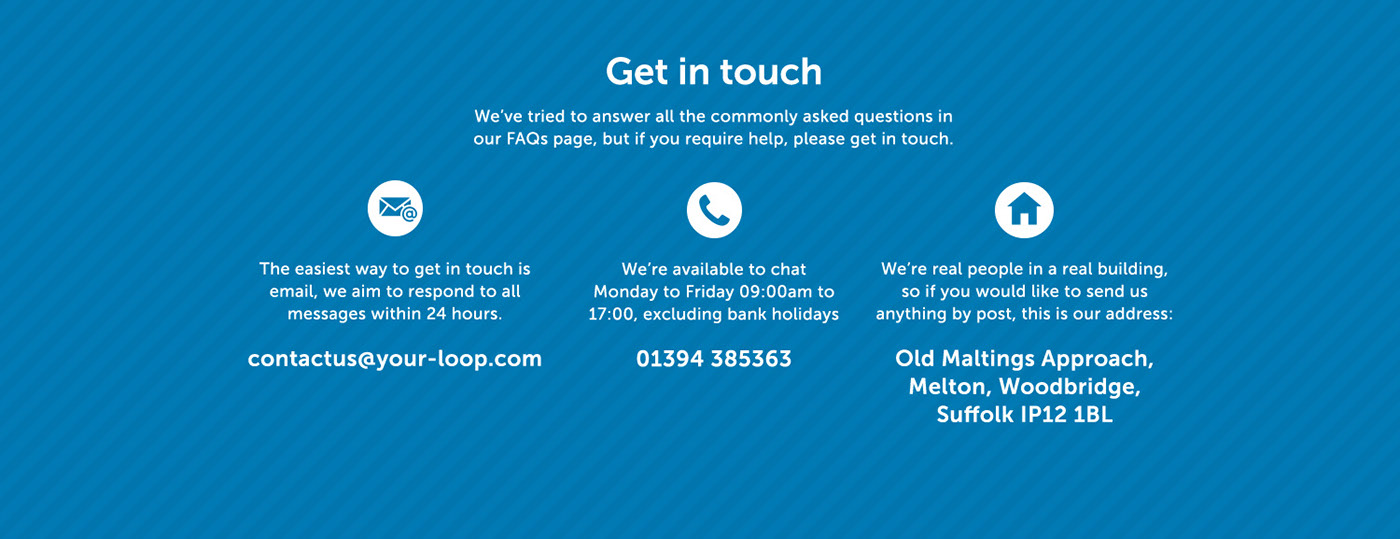 Loop contact