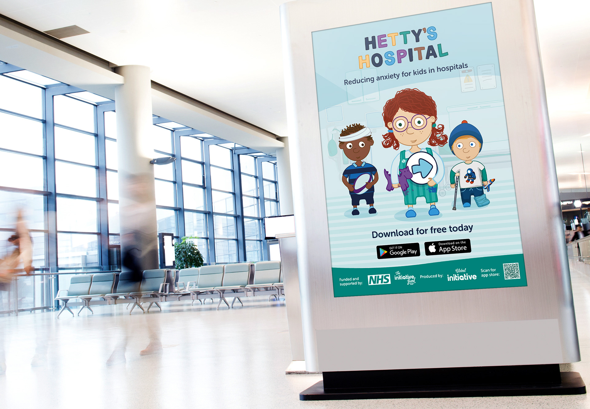 Promoting Hetty's Hospital in GP waiting rooms